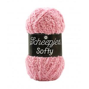 Scheepjes Softy Laine Unicolore 483 Rose Clair