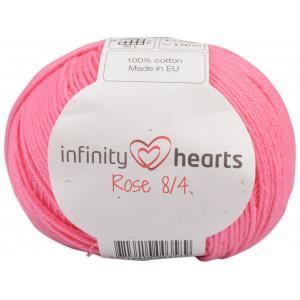 Infinity Hearts Rose 8/4 Cotton Unicolore 33 Rose