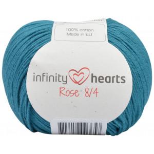 Infinity Hearts Rose 8/4 Cotton Unicolore 132 Pétrole