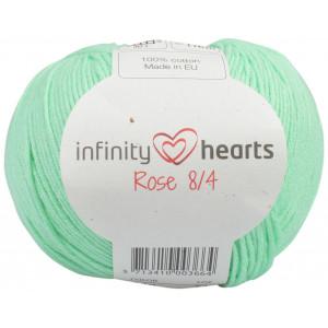 Infinity Hearts Rose 8/4 Cotton Unicolore 140 Vert Menthe