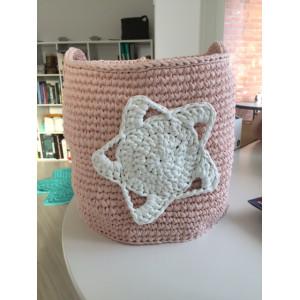 Rito Krea Kit Panier avec Crochet Étoile