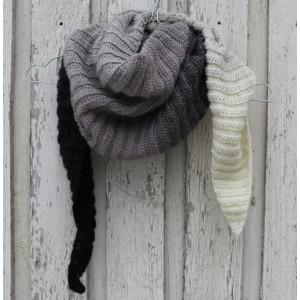 Rito Krea Kit Crochet Écharpe 165cm par Louise Grarup