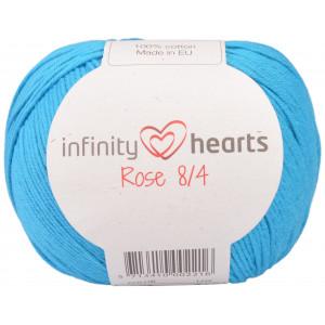 Infinity Hearts Rose 8/4 Cotton Unicolore 125 Turquoise