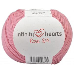 Infinity Hearts Rose 8/4 Cotton Unicolore 29 Vieux Rose