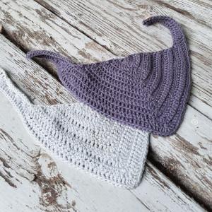 ByGrarup Côté Bavoir Salive - Patron de Bavoir Salive Crochet tailles 0/1,5 ans