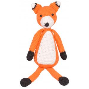 Rito Krea Robin Fox - Patron de Nounours au Crochet 30cm