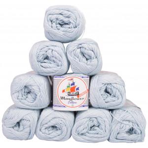 Mayflower Cotton 8/4 Junior Garnpakke Unicolor 1479 Lyseblå - 10 stk