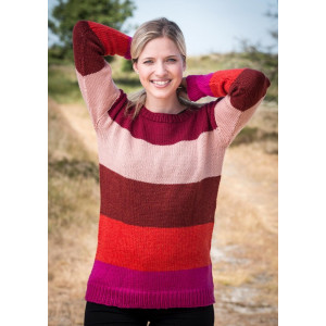 Mayflower Pull Rayures Cinq Couleurs - Modèle Tricot Pull Taille S - XXXL