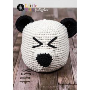 Mayflower Little Bits Panda Butoir de porte - Modèle de butoir de porte en crochet