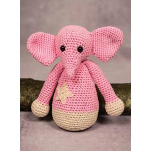 Mayflower Little Bits Elefanten Ella - Bamse Hækleopskrift