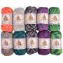 Mayflower Cotton 8/4 Junior Laine Lot Couleurs Assorties Imprimé - 10 pelotes