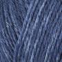 Järbo Mellanraggi Sock Laine 28218 Bleu Denim