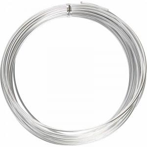 Fil Aluminium Bonzaï Argent 2mm 10m