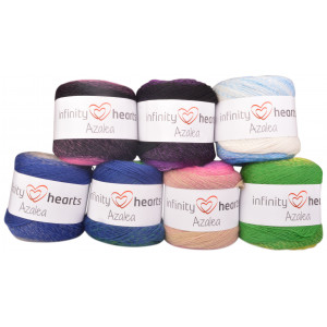 Infinity Hearts Azalea Laine Pack 5 couleurs - 5 pièces