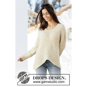 Freedom Found par DROPS Design - Modèle Tricot Pull Tailles S - XXXL