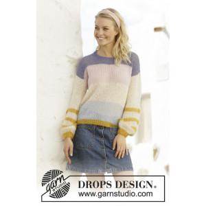 Mardi Gras par DROPS Design - Modèle Tricot Pull Tailles S - XXXL