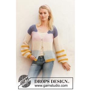 Gilet Mardi Gras par DROPS Design - Modèle Tricot Gilet Tailles S - XXXL