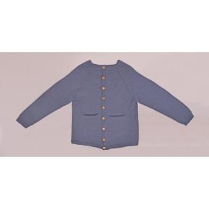 Cardigan Tricoté Basique par Rito Krea - Modèle Tricot Gilet taille 2 - 7 ans