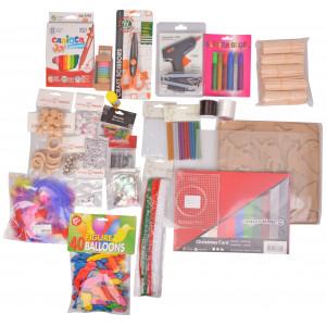 Kæmpe Kreativ Hobbypakke - 28 varer