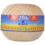 DMC Petra nr. 5 Crochet Laine Unicolore 001 Blanc Cassé - 250g
