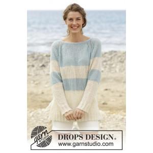 Escapade Weekend par DROPS Design - Patron de Pull Tricoté Tailles S - XXXL