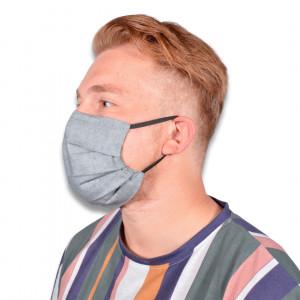 Masque avec Filtre par Rito Krea - Modèle de couture Masque 18,5x9cm - 7 pces
