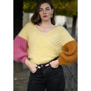 BittenJakken Molly by Mayflower - Patron de veste en tricot Taille XS-XXL