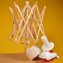 Infinity Hearts Bobinoir Parapluie pour Fil & Kit Deluxe Dévidoir à Laine