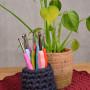 Infinity Hearts Kit 2 Crochets XL Arc-en-ciel 13,5cm 2-8mm 11 Tailles