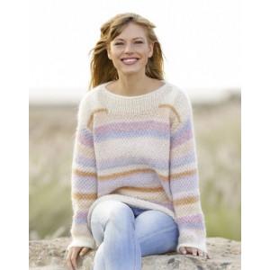 Jeunesse Éternelle par DROPS Design - Patron de Pull Tricoté avec Double Mousse Tailles S - XXXL