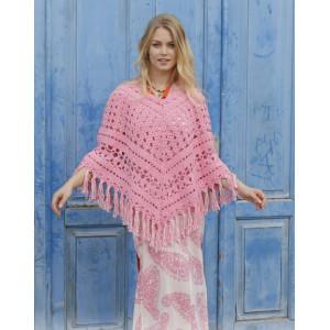 Mamma Mia by DROPS Design - Patron de Poncho Tricot Tailles S - XXXL