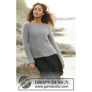 Port Brumeux par DROPS Design - Patron de Pull Tricoté Texturé Tailles S - XXXL
