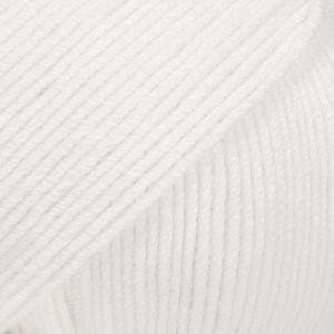 Drops Baby Merino Laine Unicolore 01 Blanc