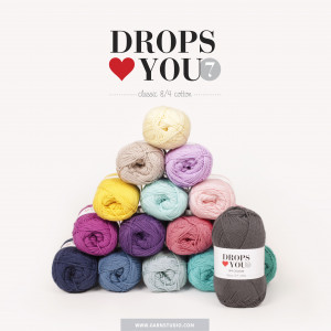 Drops Loves You 7 Garnpakke 7 farver - 7 stk